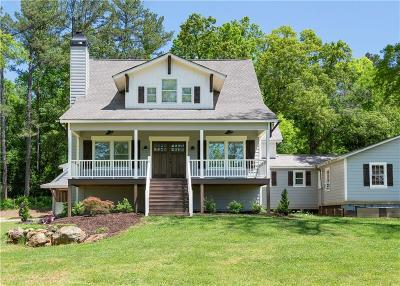 Woodstock Single Family Home For Sale: 4023 N Arnold Mill Rd