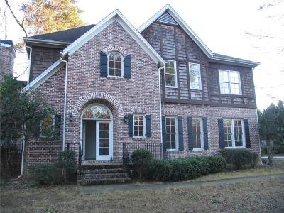 Marietta Single Family Home For Sale: 4586 Paper Mill Road
