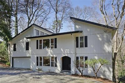 Buckhead Single Family Home For Sale: 2710 Margaret Mitchell Drive NW