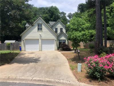 Marietta Single Family Home For Sale: 1455 Grayson Court