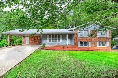 Powder Springs Single Family Home For Sale: 3075 Macedonia Drive