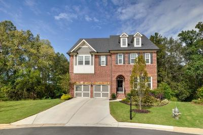 Suwanee Single Family Home For Sale: 3740 Iron Horse Drive