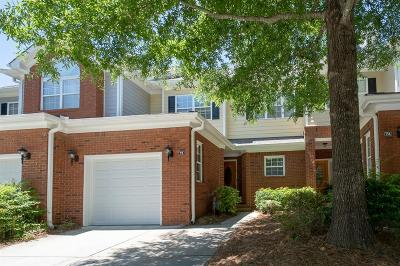 Alpharetta Condo/Townhouse For Auction: 75 Townview Drive