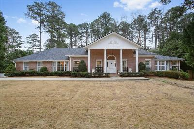 Sandy Springs Single Family Home For Sale: 620 River Valley Road