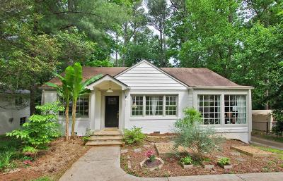 Druid Hills Single Family Home For Sale: 1831 Dyson Drive