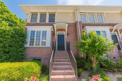 Decatur Condo/Townhouse For Sale: 7 Chief Matthews Road #1A