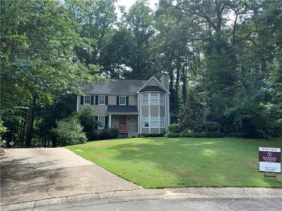 Marietta Single Family Home For Sale: 1820 Wicks Trace