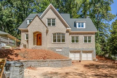 Druid Hills Single Family Home For Sale: 1182 The By Way NE
