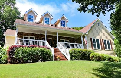 Gainesville Single Family Home For Sale: 8490 Anchor On Lanier Court