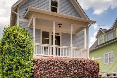 Old Fourth Ward Single Family Home For Sale: 215 Lampkin Street NE