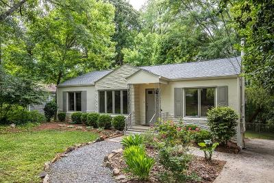 Atlanta Single Family Home For Sale: 1066 Briar Vista Terrace NE