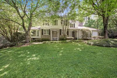 Buckhead Single Family Home For Sale: 1347 W Wesley Road NW