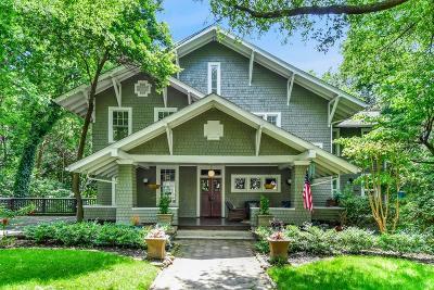 Inman Park Single Family Home For Sale: 166 Elizabeth Street NE