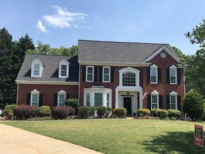 Suwanee Single Family Home For Sale: 3460 White Fox Lane