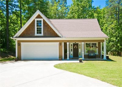 Dawsonville Single Family Home For Sale: 34 Makers Way