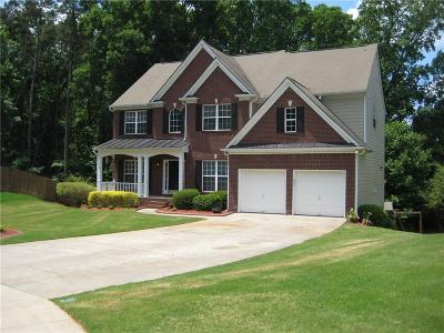 Buford Single Family Home For Sale: 3620 Devenwood Way