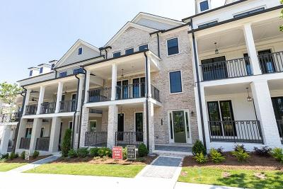 Roswell Condo/Townhouse For Sale: 115 Harlow Circle #195