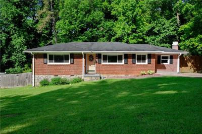Decatur Single Family Home For Sale: 3173 Pinehill Drive
