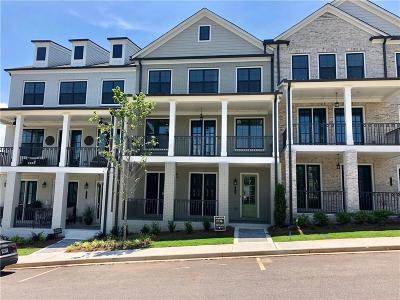 Roswell Condo/Townhouse For Sale: 113 Harlow Circle Circle #196