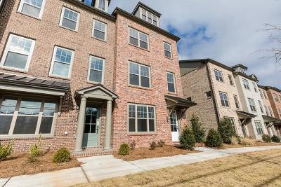 Roswell Condo/Townhouse For Sale: 10110 Windalier Way #114