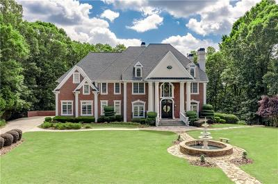 Johns Creek Single Family Home For Sale: 9320 Riverclub Parkway