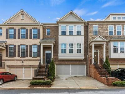 Cobb County Condo/Townhouse For Sale: 2436 Hadlow Lane #25