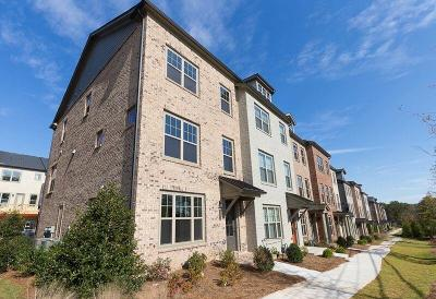 Roswell Condo/Townhouse For Sale: 10112 Windalier Way #115