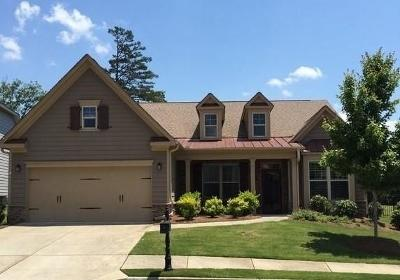 Canton Single Family Home For Sale: 206 Canyon Fairway Trace