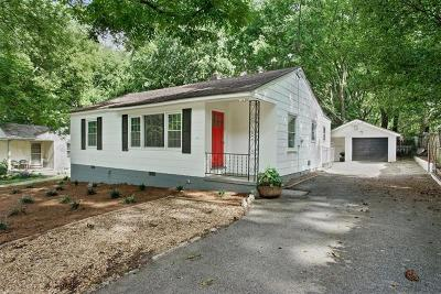 Fulton County Rental For Rent: 1817 Sumter Street NW