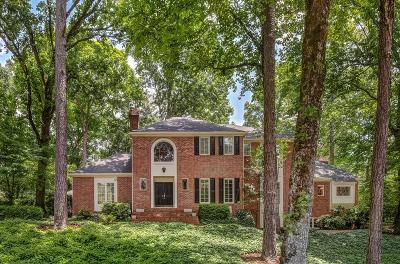 Single Family Home For Sale: 8135 Habersham Waters Road