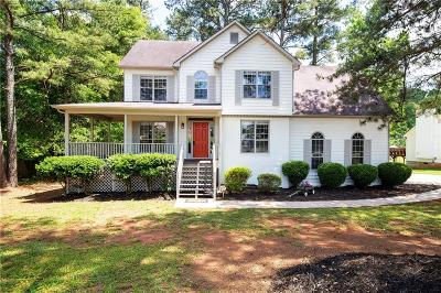 Powder Springs Single Family Home For Sale: 5829 Millers Pond Lane