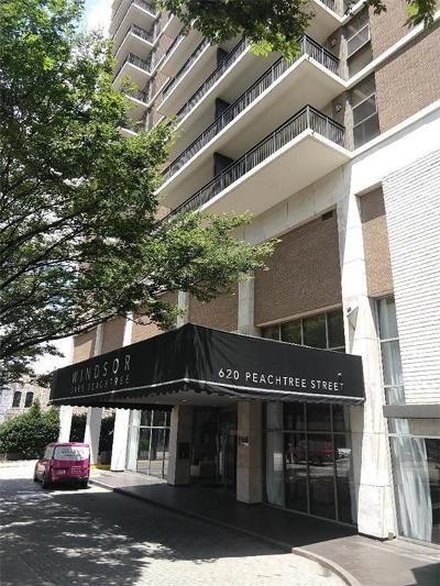 Midtown Condo/Townhouse For Sale: 620 Peachtree Street NE #604