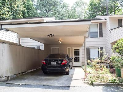 Dunwoody Condo/Townhouse For Sale: 4894 Twin Lakes Trail