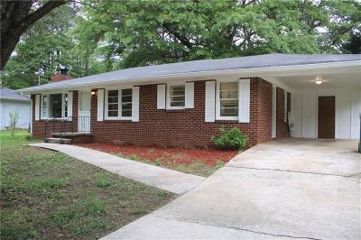 Tucker Single Family Home For Sale: 4108 Brownlee Drive
