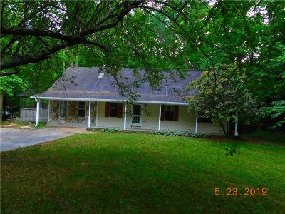Pickens County Single Family Home For Sale: 82 Cc Pritchard Street