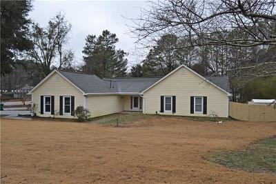 Marietta Single Family Home For Sale: 5015 Willeo Rill Way
