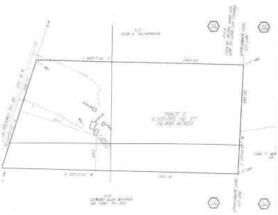 Coweta County Residential Lots & Land For Sale: 2185 Highway 85
