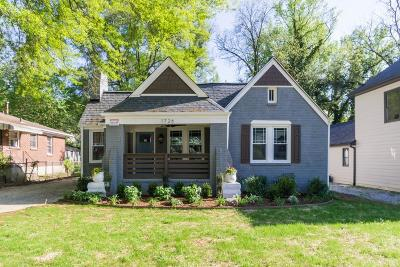 Atlanta Single Family Home For Sale: 1726 S Gordon Street