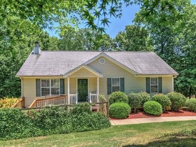 Forsyth County Single Family Home For Sale: 9215 Cain Circle