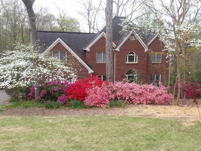 Marietta Single Family Home For Sale: 702 Robinson Farms Drive