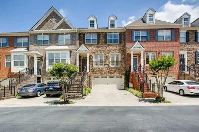 Roswell Condo/Townhouse For Sale: 1005 Manchester Way