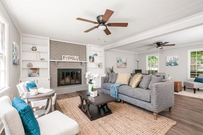 Dunwoody Single Family Home For Sale: 2647 Wood Hollow Drive