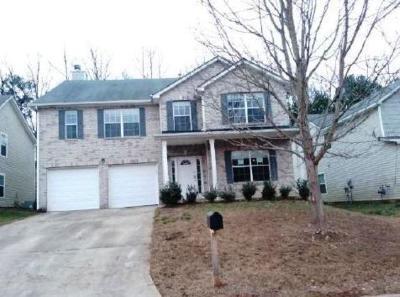 Austell Single Family Home For Sale: 6966 Bonnes Boulevard