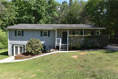 Powder Springs Single Family Home For Sale: 4855 Brownsville Road