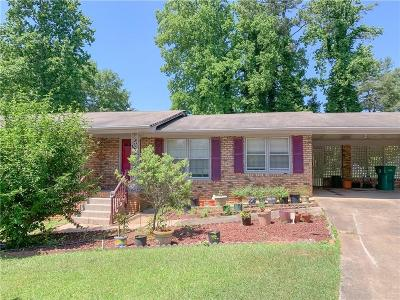 Cobb County Single Family Home For Sale: 3754 N Cooper Lake Road SE