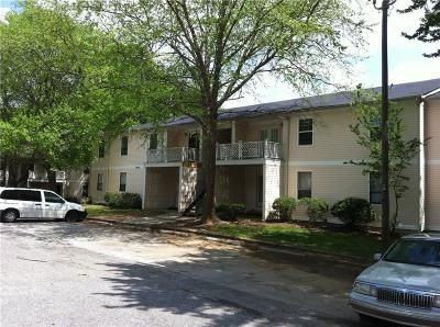 Tucker Condo/Townhouse For Sale: 3605 Woodbriar Circle