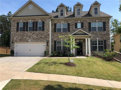 Holly Springs Single Family Home For Sale: 323 Hillgrove Drive