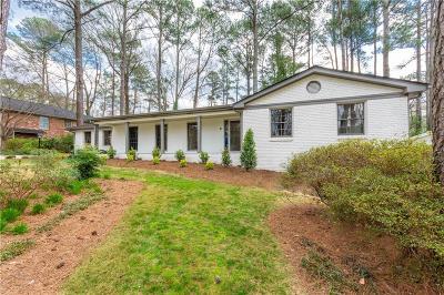 Atlanta Single Family Home For Sale: 2221 Bonnavit Court NE