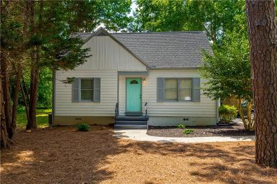 Atlanta Single Family Home For Sale: 2361 Johnson Ferry Road NE