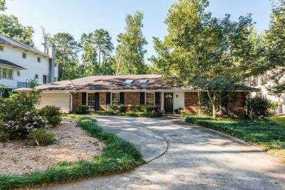 Sandy Springs Single Family Home For Sale